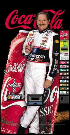 Dale Earnhardt & coke