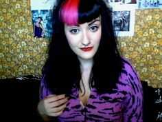 PSYCHOzombie: BETTIE BANGS-COLORED HAIR-PSYCHOBILLY | We Heart It