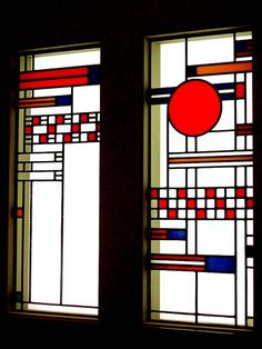 Two Windows, Frank Lloyd Wright, 1912 | Flickr - Photo Sharing!