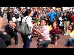 Flash Mob Marriage Proposal in Union Square.