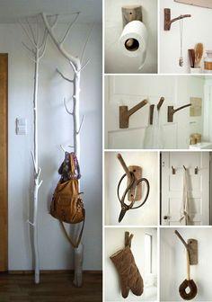 kapstokken Ladder Decor, Sweet Home, Credenza, Blog, Houses, Cabin, Decoration, Home Decor, Ideas