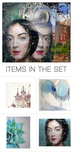 """""""Untitled 1381"""" by ceca-66 ❤ liked on Polyvore featuring art"""