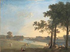Richard Wilson Blick über die Themse bei Richmond Gardens auf Syon House, um 1760/70 Öl auf Leinwand, 103,5 x 139 cm