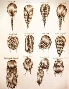 These are some cute easy hairstyles for school, or a party…. These are some cute easy hairstyles for school, or a party…. These are some cute easy hairstyles for school, or a party. Easy Hairstyles For School, Diy Hairstyles, Fashion Hairstyles, Hairstyle Ideas, Drawing Hairstyles, Wedding Hairstyles, Updo Hairstyle, Latest Hairstyles, Hair Ideas For School