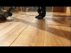 Dutch manufacturer Bolefloor is bringing a remarkably different type of hardwood floor to the U.S. -- one whose planks sport organic curves instead of the usual straight edges. The company touts not only the aesthetic beauty but also the environmental advantages: Compared with traditional milling processes, the curved edges allow 20% more of each sawed plank to be used.