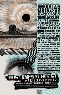 GigPosters.com - Brian Jonestown Massacre - Black Lips, The - Black Angels, The - Olivia Tremor Control - Dead Meadow - Wooden Shjips - Bombino - Woods - Telescopes, The - Disappears - Pink Mountaintops - Sun Araw - Moon Duo - Prince Rama - Pure X - Sleep Over - Psychic Ills - Indian Jewelry - Quilt - Amen Dunes - Night Beats - Intelligence, The - Headdress - Ringo Deathstarr - Spindrift - Lotus Plaza - Ufo Club, The - Acid Baby Jesus - Christian Bland And The Revelators - High Wolf - Allah…