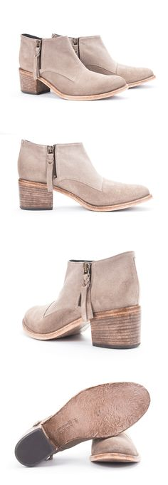 """These #AlbertoFermani """"Capricia"""" ankle boots works beautifully with shorts, jeans, and you."""