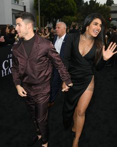 Priyanka Chopra , Danielle Jonas ,Sophie Turner became the hottest cheerleaders for their husbands at Premiere of Jonas Brothers Documentary Chasing Happiness - HungryBoo Black Satin Dress, Metallic Dress, Danielle Jonas, Nick Jonas, Miss World 2000, Drop Everything And Read, Actress Priyanka Chopra, Wedding Of The Year, Hot Cheerleaders