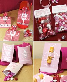 Love these! Valentine's Day Printables for classroom exchange or party favors - Free PDF Printables.
