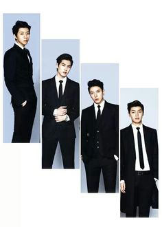 CNBlue in Suits