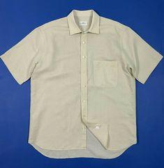 2d10c614d9c90f Fabio inghirami camicia uomo usato L 16 tg 41 shirt manica corta estiva  T5374 #camicia
