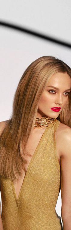 Miss Millionairess Of Pennsylvania:  Love Karmen Pedaru for Michael Kors gold glimmer top  ♡