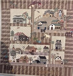 """At the 20th European Patchwork Meeting in Alsace, France, Quiltmania presented an exhibition called """"50 Variations of Yoko Saito's Mystery Q..."""
