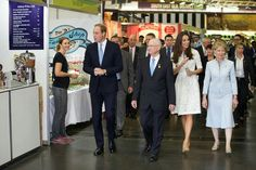 April 18, 2014 - William & Kate at the Royal Easter Show in Sydney, Australia.