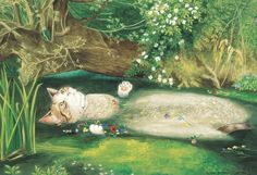 Los gatos se convierten en protagonistas de obras de arte: así son Las meninas o La Gioconda gatunas
