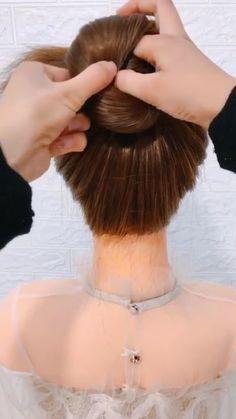 Medium Hair Styles, Short Hair Styles, Prom Hair Tutorial, Hair Videos, Makeup Videos, Cute Hairstyles, Ponytail Hairstyles, Hair Hacks, Hair Care