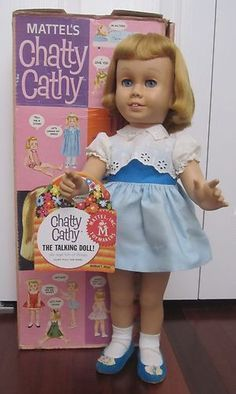 Chatty Cathydolls were a wildly popular Christmas gift in the sixties that bring fond (and not so fond) memories.