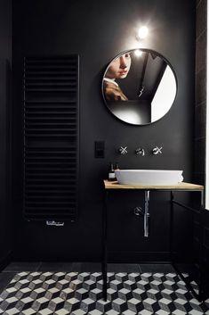 Фото из статьи: Крошечная квартира: 27 квадратных метров, где поместились кухня, столовая, спальня и чёрный санузел