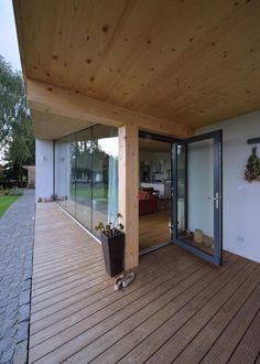 House Habrovice by 08 - MyHouseIdea Facade, Lab, Patio, Outdoor Decor, House, Home Decor, Kitchen, Decoration Home, Haus