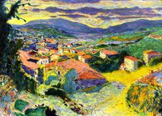 Landscape at Le Cannet Pierre Bonnard - 1938