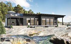 Home - Pluspuu talot Cabin Kit Homes, Log Cabin Kits, Cabin Plans, Log Homes, Saunas, Prefab Log Cabins, Modern Prefab Homes, Modern Cabins, Cabin Lighting