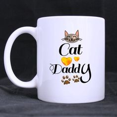 Cat Daddy/ Dad Mug/ Mug for Dad/ Funny Coffee Mugs or Tea Cup, Cool Birthday Gifts for Dad -- New and awesome product awaits you, Read it now  (This is an amazon affiliate link. I may earn commission from it)