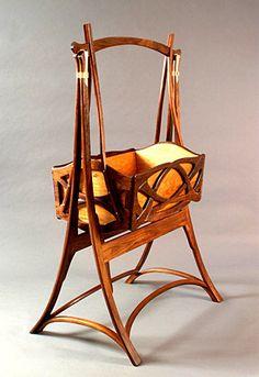 Art Nouveau and Art Deco Art Nouveau Interior, Art Nouveau Furniture, Art Nouveau Design, Baby Furniture, Antique Furniture, Cool Furniture, Furniture Design, Modernisme, Belle Epoque