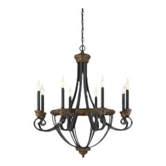 Found it at Wayfair - Wickham 8 Light Candle Chandelier