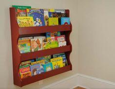 Hand Crafted Custom Kids Bookshelf by Against The Grain Custom Woodworks | CustomMade.com