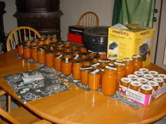 Canning Apricots - COOKING - Knitting, sewing, crochet, tutorials, children crafts, papercraft, jewlery, needlework, swaps, cooking and so much more on Craftster.org