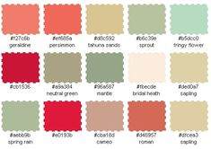 french country rustic color palette | ... color palette generator to get a closer look at the color scheme