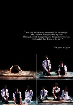 """""""Spring Awakening"""" - """"Those You've Known"""". This song is so gorgeous. Actually, the whole soundtrack..."""