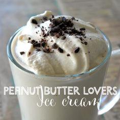 PB Lovers Ice Cream the Healthy kind!