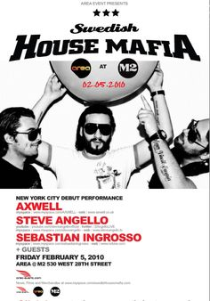 Songs by swedish-house-mafia Steve Angello, Swedish House Mafia, Live Band, Internet Radio, Music Is Life, Singers, Ears, Rocks, Artists