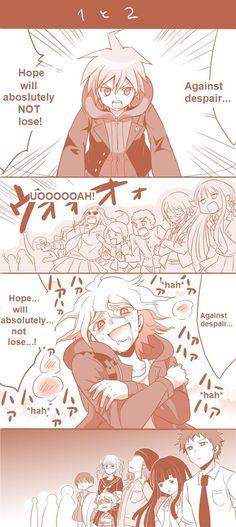 lol Komaeda--He's making everyone very uncomfortable.