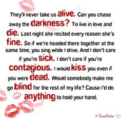 I Don't Care If You're Contagious- Pierce the Veil :D