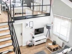 Une mezzanine pour agrandir l'espace de vie
