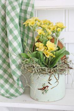 springtime cottage...