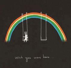 Wish you were here Vanessa, Pink Floyd