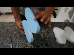 letras 3D de isopor - YouTube