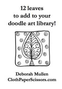 """Learning to look at designs as kisses, spirals, humps, swirls, and dots will change your doodling forever and help you build a doodle library of tons… Doodles Zentangles, Zentangle Patterns, Drawing Letters, Drawing Art, Cloth Paper Scissors, Doodle Art Designs, You Doodle, Lotus, Stencils"