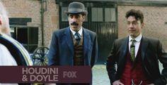 Houdini & Doyle a maggio su FOX. Arriva la serie tv con Arthur Conan Doyle e Henry Houdini Houdini & Doyle il period crime drama