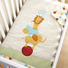 Circus Nursery Bedding