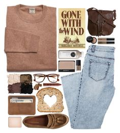 Gone With the Wind by ladyvalkyrie on Polyvore featuring Miss Selfridge, Ray-Ban, Illamasqua, shu uemura, Bobbi Brown Cosmetics, tarte and NARS Cosmetics