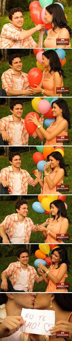 Recadinho no balão