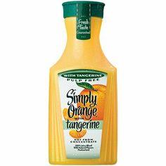 Simply Orange with Tangerine 100% Juice Blend