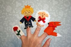 Minois - finger puppets