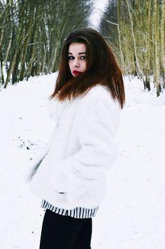 winter portrait photography