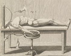 Giovanni Aldini was an Italian physicist and the nephew of Luigi Galvani. Aldini might be best known for his public demonstration on galvanism, the stimulation of muscle tissue with an electrical current, pioneered by his uncle. His public demonstration in London in 1803 used the corpse of the executed criminal George Foster.