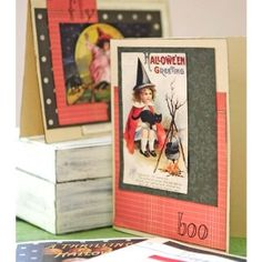 Witching Hour Cards Project by Vanessa Spencer